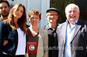 Christopher Biggins, Harry Enfield and Lisa Snowdon
