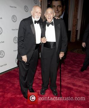 Dominic Chianese and Abe Vigoda