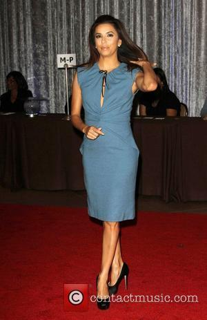Eva Longoria and Beverly Hilton Hotel