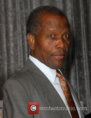 Sidney Poitier and Beverly Hilton Hotel