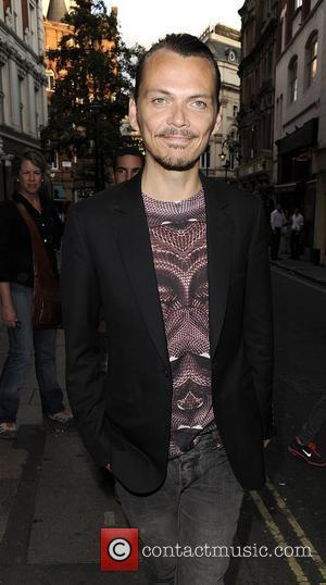 Fashion designer Matthew Williamson arriving at Windmill strip club for The Girly Show Lounge London, England - 24.07.11
