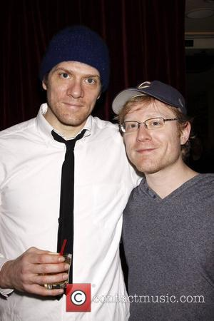 Adam Rapp and his brother Anthony Rapp Opening night after party for the Off-Broadway production of The 'Hallway Trilogy: Nursing'...
