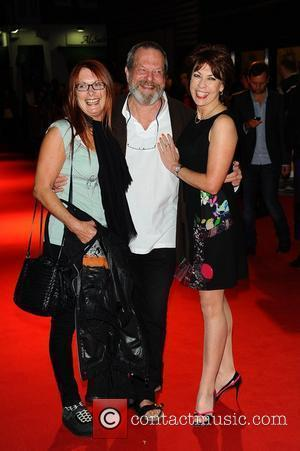 Terry Gilliam, Kathy Lette and Guest UK premiere of 'The Help' held at Curzon Mayfair - Arrivals London, England -...