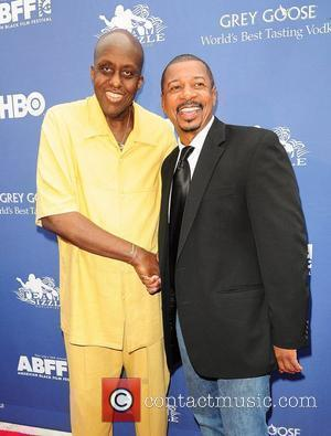 Bill Duke, Robert Townsend 'In The Hive' premiere during the 15th Annual American Black Film Festival at the Colony Theater...