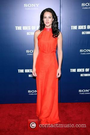 America Olivo New York premiere of 'The Ides of March' at the Ziegfeld Theater - Arrivals New York City, USA...