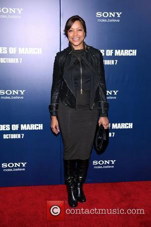 Grace Hightower New York premiere of 'The Ides of March' at the Ziegfeld Theater - Arrivals New York City, USA...