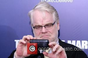 Philip Seymour Hoffman New York premiere of 'The Ides of March' at the Ziegfeld Theater - Arrivals New York City,...