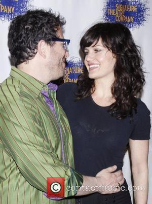 Michael Mayer and Carla Gugino  Opening night after party for the Signature Theatre Company production of 'The Illusion' held...