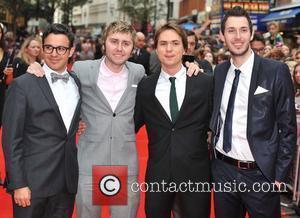Simon Bird, Blake Harrison, James Buckley and Joe Thomas