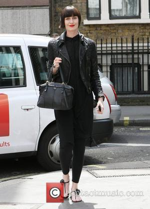 Erin O'Connor  outside The Ivy restaurant London, England – 24.06.11
