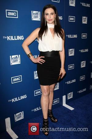 Michelle Forbes Premiere Of AMC's Series The Killing held at the Harmony Gold Theater Los Angeles, California - 21.03.11