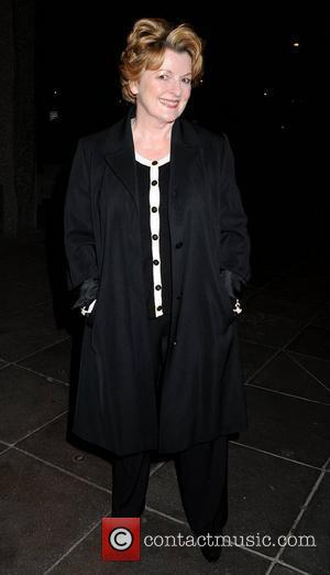 Brenda Blethyn arrives at the RTE Studios for 'The Late Late Show' Dublin, Ireland - 01.04.11