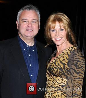 Eamonn Holmes and Ruth Langsford arrive at the RTE Studios for 'The Late Late Show' Dublin, Ireland - 01.04.11