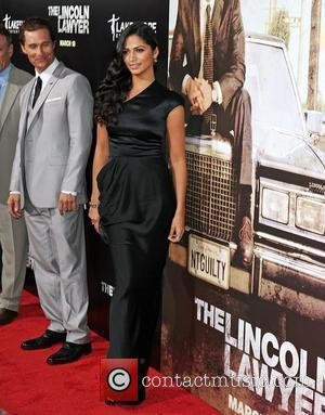 Camila Alves and Matthew McConaughey Screening Of Lionsgate & Lakeshore Entertainment's 'The Lincoln Lawyer' at ArcLight Cinemas Cinerama Dome Los...