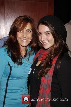 Andrea McArdle poses with her daughter, actress Alexis Kalehoff at 'The Men Event', the largest Gay social and business networking...