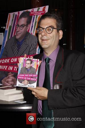 Michael Musto  promotes his new book 'Fork On The Left, Knife In The Back' at 'The Men Event', the...