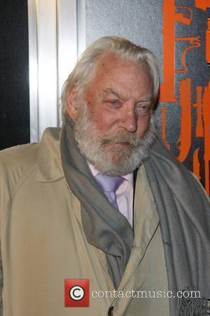 Donald Sutherland The Los Angeles Premiere of 'The Mechanic' held at ArcLight Cinemas - Arrivals  Los Angeles, California -...