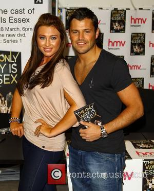 Lauren Goodger, Mark Wright 'The Only Way Is Essex' cast promote and sign copies of their new DVD at HMV...