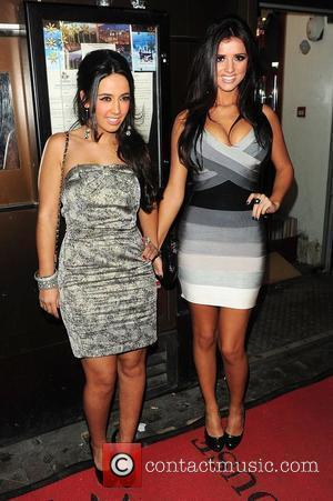 Peri Sinclair and Lucy Mecklenburgh at The Only Way Is Essex: Official Wrap Party held at The Penthouse London, England...