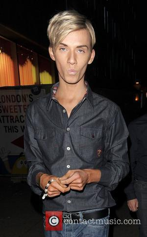 Harry Derbidge leaving The Only Way Is Essex: Official Wrap Party, held at The Penthouse Club. London, England - 10.11.11