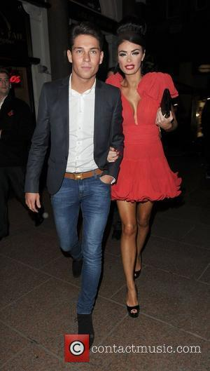 Joey Essex and Chloe Simms leaving The Only Way Is Essex: Official Wrap Party, held at The Penthouse Club. London,...