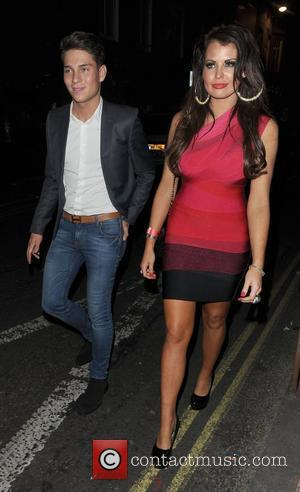 Joey Essex and Jessica Wright leaving The Only Way Is Essex: Official Wrap Party, held at The Penthouse Club. London,...