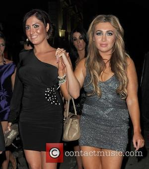 Nicola Goodger and Lauren Goodger leaving The Only Way Is Essex: Official Wrap Party, held at The Penthouse Club. London,...
