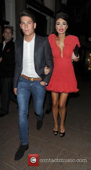 Joey Essex and Chloe Simms at The Only Way Is Essex: Official Wrap Party, held at The Penthouse Club. London,...