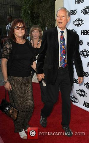 Richard Chamberlain and Guest 2011 Outfest Film Festival Screening of 'The Perfect Family' closing night held at The Directors Guild...