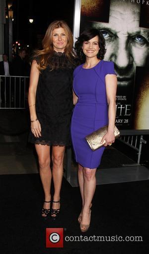 Connie Britton and Carla Gugino