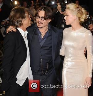 Bruce Robinson, Amber Heard and Johnny Depp