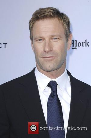 Aaron Eckhart,  at 'The Rum Diary' premiere held at the LACMA Bing Theater - Arrivals Los Angeles, California -...