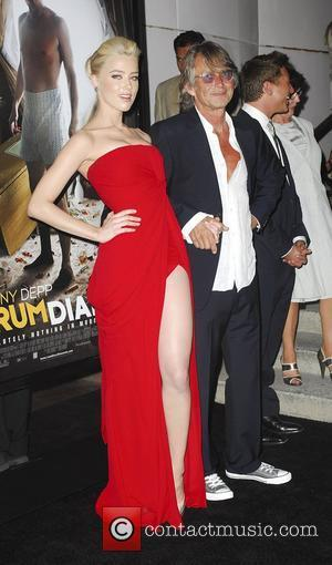 Amber Heard, Bruce Robinson,  at 'The Rum Diary' premiere held at the LACMA Bing Theater - Arrivals Los Angeles,...