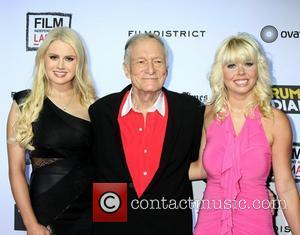 Hugh Hefner 'The Rum Diary' premiere held at the LACMA Bing Theater - Arrivals Los Angeles, California - 13.10.11