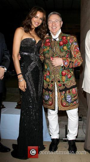 Irina Shayk and Haute Couture Designer Slava Zaitsev The 9th Annual Russian Heritage Festival at The Metropolitan Museum of Art...