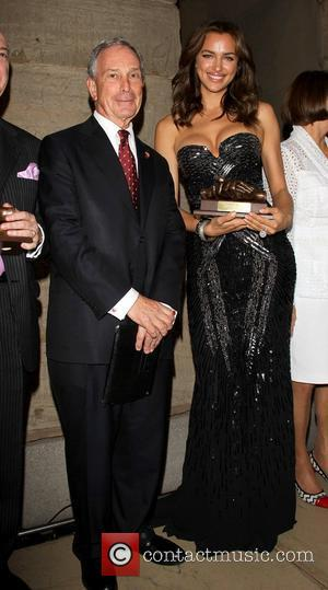 New York City Mayor Michael Bloomberg and Irina Shayk The 9th Annual Russian Heritage Festival at The Metropolitan Museum of...