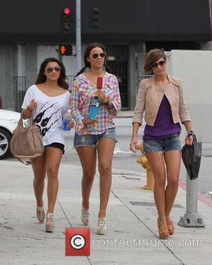 Vanessa White, Frankie Sandford, Rochelle Wiseman and The Saturdays