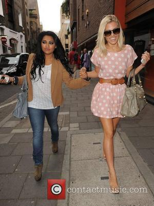 Vanessa White, Mollie King and The Saturdays