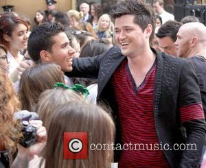 Danny O'Donoghue  The Script perform at the Today Show Concert Series in New York City New York City, USA...