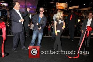 Mike Sorrentino aka The Situation attends a ribbon cutting ceremony for the 'Nightclub and Bar Convention and Trade Show', held...