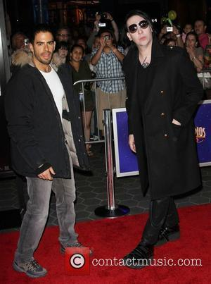 Eli Roth and Marilyn Manson