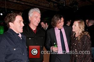 Rob Brydon, David Byrne and Steve Coogan