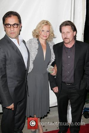 Producer of the way, David Alexanian, Sonja Magdevski, Emilio Estevez,  at the premiere of 'The Way' to benefit the...