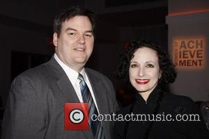James J. Claffey, Jr. and honoree Bebe Neuwirth The Women's Project's 2011 Women of Achievement Gala held at Espace party...