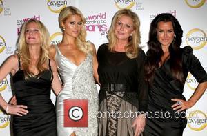 Kim Richards, Kathy Hilton, Kyle Richards and Paris Hilton