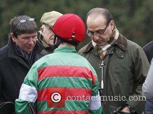 Theo Paphitis at Kempton Park Racecourse Surrey, England - 20.02.11