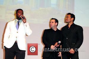 50 Cent, Curtis Jackson, Mario Van Peebles and Randall Emmett