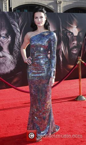 Jamie Alexander Los Angeles premiere of 'Thor' held at the El Capitan Theatre - Arrivals Hollywood, California - 02.05.11