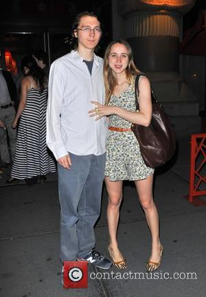 Paul Dano and Zoe Kazan Opening night after party for the Atlantic Theater Company production of 'Through A Glass Darkly'...