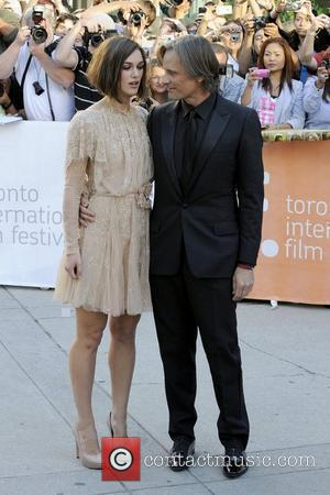 Keira Knightley and Viggo Mortensen
